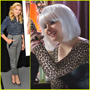 Chloe Moretz Rocks White Wig In New 'If I Stay' Stills