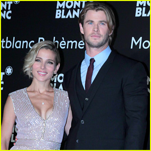Chris Hemsworth Visits Shanghai for Montblanc Boheme Launch