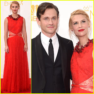 Claire Danes' Emmys 2014 Date: Hubby Hugh Dancy, Of Course!