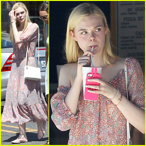 Elle Fanning & Mom Joy Make it a Girls' Day Out Shopping