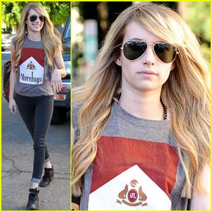 Emma Roberts \'Feels Like Her Self Again\' with New Blonde Hair ...