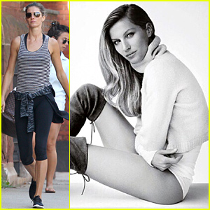 Gisele Bundchen Poses Without Pants for Stuart Weitzman Campaign - See the Photo!
