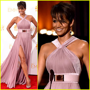 Halle Berry Skips Emmys Red Carpet, Presents Night's Top Prize