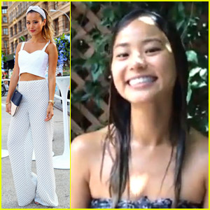 Jamie Chung Responds To Fan's Negativity After Taking ALS Ice Bucket Challenge