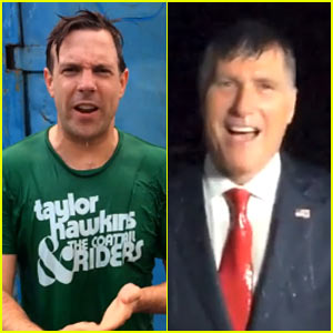 Jason Sudeikis Accepts Mitt Romney's Ice Bucket Challenge!