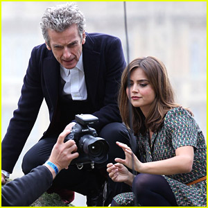 Jenna Coleman Dotes on 'Doctor Who' Co-Star Peter Capaldi: 'He's A Fearless Actor'