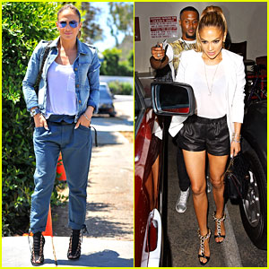 Jennifer Lopez Has Fun Night Out with Bestie J.R. Taylor