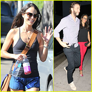 Jordana Brewster Is Red Hot For Romantic Date With Husband