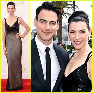 Julianna Margulies Hits Emmys 2014 Red Carpet with Husband Keith Lieberthal