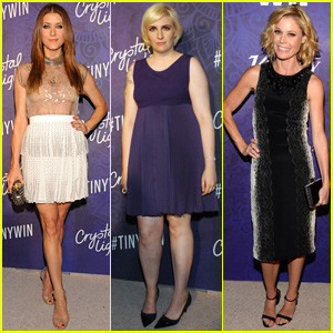 Kate Walsh & Lena Dunham Party It Up Pre-Emmys with Variety