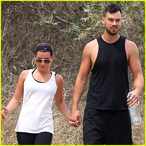 Lea Michele & Boyfriend Matthew Paetz Hold Hands on a Hike!