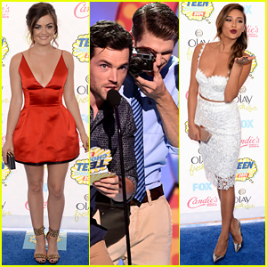 Lucy Hale WINS Choice Television Drama Actress at Teen Choice Awards 2014