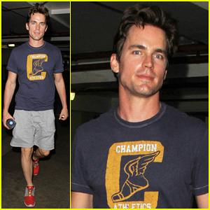 Matt Bomer Gets Sweaty for Malibu Workout After Wrapping Up 'White Collar'