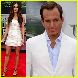 Megan Fox & Will Arnett Premiere 'Teenage Mutant Ninja Turtles'