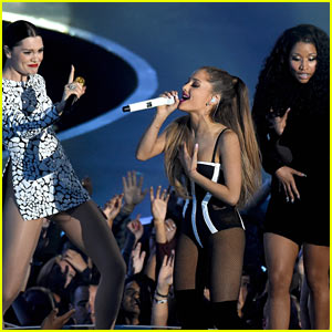 MTV VMAs 2014 Opening Peformance with Ariana Grande, Nicki Minaj, & Jessie J - WATCH NOW!