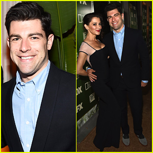New Girl's Max Greenfield Brings Wife Tess Sanchez to Fox's Emmys 2014 After Party