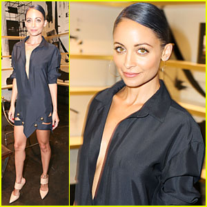 Nicole Richie Isn't Afraid to Go Braless at Ryan Korban's Party