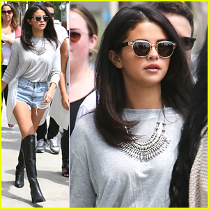 Selena Gomez Lunches At Gracias Madre With Hot Boots!