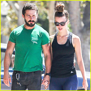 Shia LaBeouf & Girlfriend Mia Goth Enjoy Lunch Date at Granville Cafe