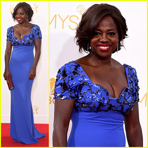 Viola Davis Kills It on Emmys 2014 Red Carpet