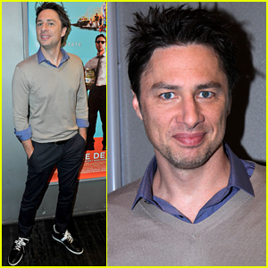Zach Braff on His Bromance with Harry Styles: 'He's a Super Nice Guy!'