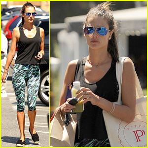 Alessandra Ambrosio Back in L.A. After Venice Film Festival