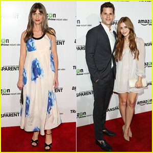 Amanda Peet Shows Off Her Baby Bump at 'Transparent' Los Angeles Premiere!