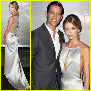 Annabelle Wallis Glows at 'Annabelle' Hollywood Premiere!