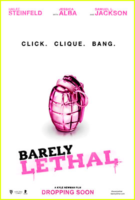 Hailee Steinfeld & Jessica Alba's 'Barely Lethal' Poster Revealed! (Exclusive)