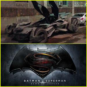 Batmobile Images from 'Batman v Superman: Dawn of Justice' Set Have Been Revealed!