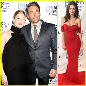 Ben Affleck & Pregnant Rosamund Pike Hit 'Gone Girl' World Premiere!