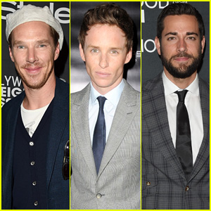 Benedict Cumberbatch Rocks Golf Cap to InStyle TIFF Party