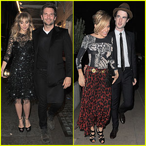 Bradley Cooper & Suki Waterhouse Meet Up With Sienna Miller & Tom Sturridge For Dinner!