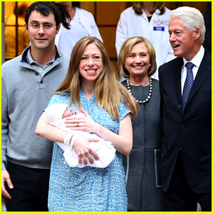 Chelsea Clinton & Marc Mezvinsky Introduce Daughter Charlotte to the World (Photos)