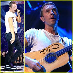 Chris Martin & Coldplay Perform Five Hits at iHeartRadio Music Festival 2014 (Video)