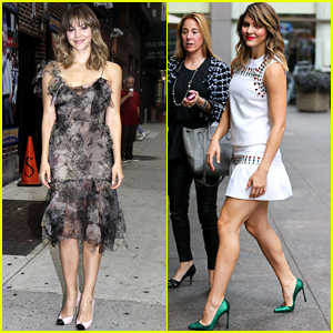 David Letterman Scares Katharine McPhee By Asking Her About Her Nude Photos - Watch Now!