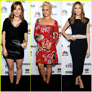 Dianna Agron & Sophia Bush Look So Chic at Global Citizen Festival 2014