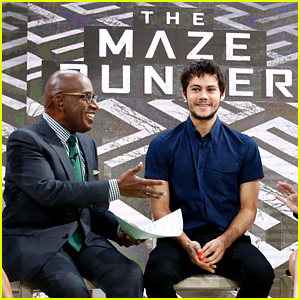 Dylan O'Brien Brings His Sexy Scruff to 'The Today Show'