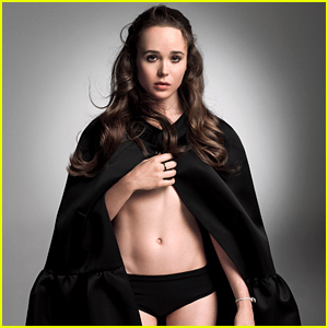Ellen Page Wears Nearly Nothing & Flashes Her Amazing Abs for W's New Royals Issue