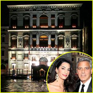 George Clooney's Wedding Venue Looks Incredible - See Photos