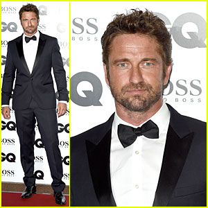 Gerard Butler Makes Hugo Boss Look So Good at GQ Men of the Year Awards 2014