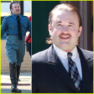 Haley Joel Osment Looks Unrecognizable for Nazi Officer Role