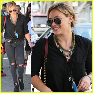 Hilary Duff is 'So Excited' to Visit Australia For Album Promo!
