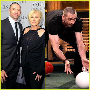 Hugh Jackman Horribly Fails at Cheating During Pool Bowling Game on 'Tonight Show'