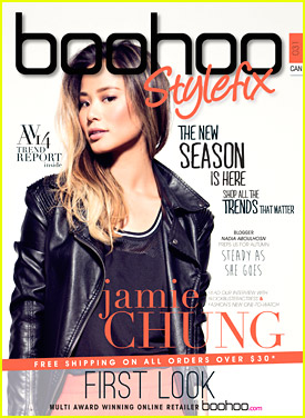 Jamie Chung Covers 'Boohoo StyleFix' - See All The Mag Covers! (Exclusive)