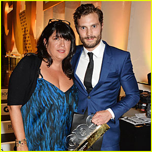 Jamie Dornan & E.L. James Have 'Fifty Shades of Grey' Reunion at GQ Men of the Year Awards 2014