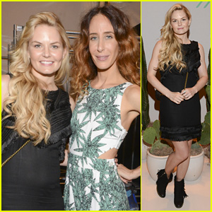 Jennifer Morrison 'Once' Again Stuns at Mara Hoffman Show