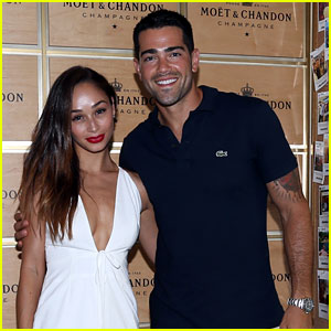 Jesse Metcalfe & Cara Santana Watch the U.S. Open with Moet