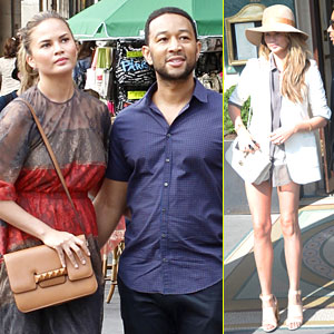 Chrissy Teigen Gives Twitter Followers a History Lesson While in Paris!