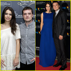 Josh Hutcherson & Girlfriend Claudia Traisac Are Picture Perfect in Spain!